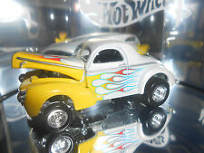 Hot Wheels Oil Can '40 Willys (White) Street Rod Series 1/15,000