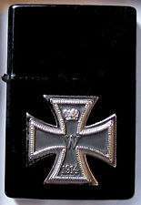 German Prussia Empire Knight King Iron Cross Eagle Lighter Medal Trench Troop SS