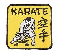 Aufnäher Karate, Ju-Sports Karate Patch, Badge zum Aufnähen, 5909002