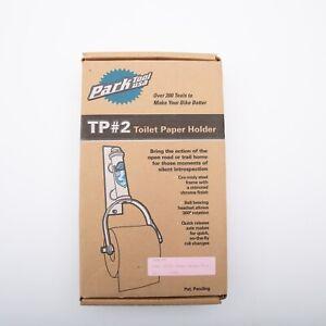 Park Tool TP#2, Toilet Paper Holder, Vintage, Rare, Chrome - Rare