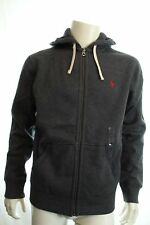 Ralph Lauren Polo Men's Grey Hoodie Contrast out of Stitches Hooded M