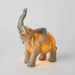 Jiggle & Giggle Kids Lamp Sculptured LED NIGHT LIGHT – ELEPHANT – for Kiddies