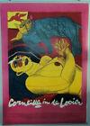 "Corneille in de Looier exhibition poster1988 original 35"" X 23"" FREE SHIPPING"