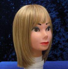 Ladies Blonde Bob Wig, Monofilament, Fine Lace Front, Natural Image, £230