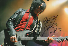 """Richard Fortus """"Guns N`Roses"""" signed 8x12 inch photo autograph"""