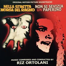 RIZ ORTOLANI - WEB OF THE SPIDER/DON,T TORTURE A DUCKLING - CD Soundtrack