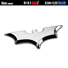 Bat Batman Dark Knight 3d Metal Car Auto Badge Emblem Sticker Chrome Gold