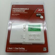 Ace 7 day Digital Programmable Thermostat, White