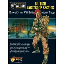 Warlord Games Bolt Action British Paratroop Section 28mm Scale Wgb-ba-03