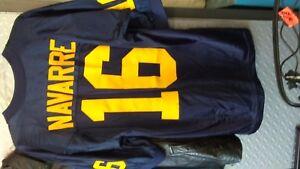 Authentic Michigan Football Jersey #16 John Navarre