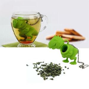 Dinosaur Silicone Tea Infuser Reusable Herb Loose Leaf Tea