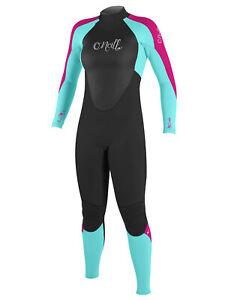 4/3mm Kid's & Junior's O'Neill EPIC Full Wetsuit  -  Girls