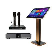 "InAndOn KV-V5Max Karaoke Player, HiFine 22"" Touch Screen, T-800 Wireless Mic"