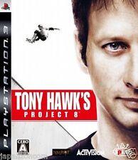 Used PS3 Tony Hawk's Project 8 PLAYSTATION 3 SONY JAPAN JAPANESE IMPORT