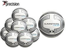 TOUT NEUF 10 X Precision Lite BALLON D'entraînement 350 g Blanc / ARGENT -