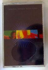 SIMPLE MINDS - REAL LIFE - Musicassetta   Cassette Tape MC K7 Sealed