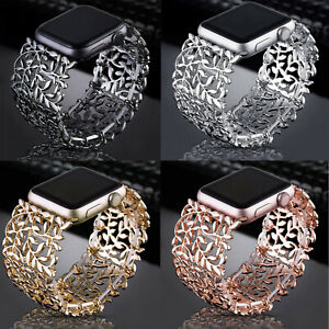 Wristbands Strap For Apple Iwatch SE Rhinestone Jewelry Watch Bands Series 6 5 4