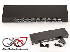SPLITTER VGA 16 ports 350MHz - Image d'un PC vers 16 ecrans