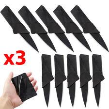 x3 Lot Credit Card Thin Knives Cardsharp Wallet Folding Pocket Micro Knife