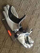 Nike Pro Combat Rivalry Vapor Jet Oregon Ducks Team Issued Gloves Sz XL