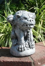 Gargoyle Statue Sculpture with 3 Heads