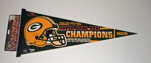 1996 PACKERS Super Bowl XXXI CHAMPS pennant 12X NFL Champs Brett Favre Starr