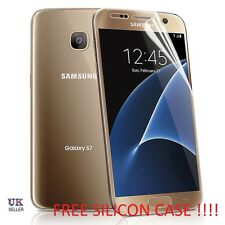 Samsung Galaxy S7 Screen Protector,(5.1 inch) WITH FREE SILICON CASE !!!!!