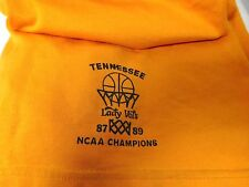 TENNESSEE LADY VOLS 87 89 NCAA CHAMPIONS VINTAGE WOMENS BASKETBALL SHORTS SZ XL