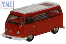 NVW004 Oxford Diecast Senegal Red/White VW Camper 1/148 Scale N Gauge