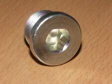 Sensor Port Blanking Plug Bung Metric M24 x 1.5mm Hex Socket DIN908-ST-M24x1,5-A