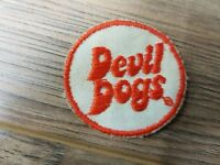 "Vintage 2"" diameter Evil Dogs RARE Embroidered Patch NEW!"
