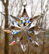 SWAROVSKI Crystal 2013 Annual Little Snowflake Star Christmas Ornament Mint  NIB