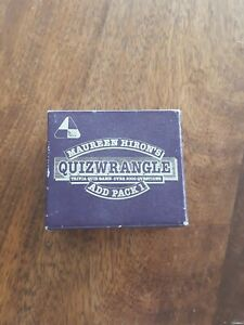 "Maureen Hirons ""Quizwrangle"" Trivia. Over 2000 questions. (Add Pack 1)"