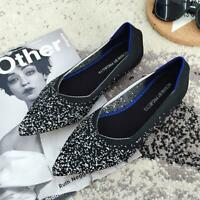 Womens The Pointed Toe Flats Environmental Fashionable Shoe Collection