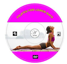 Pilates For Lower Back Pain DVD Workouts Exercise For Chronic or Mild Back Pain