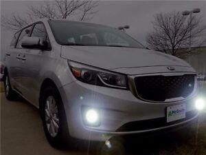 Xenon Halogen Fog Lamps Driving Light Kit for 2015-2018 Kia Sedona 15 16