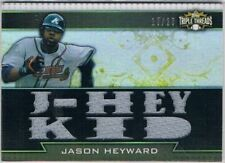 Triple Threads 2011 Season Baseball Cards