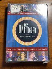 MTV Unplugged - Superstars (DVD, 2000) New