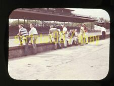 1951 Indianapolis Indy 500 - Pit Scene / Practice Day - Vintage 35mm Race Slide