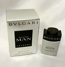 BVLGARI MAN EXTREME 5ml - 0.17oz EDT MINI Splash Non-Spray NEW IN BOX (C60