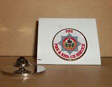 Figeac FIRE e Rescue Service bavero pin badge
