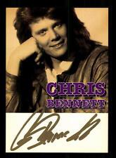 Chris Bennett Autogrammkarte Original Signiert ## BC 95786