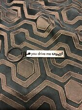 You Drive Me Crazy Key Chain Keychain Ring Vilmain Gift Boxed Pewter Made in Usa
