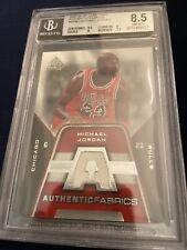 Michael Jordan 2007-08' UD SP Game Used Patch Memorabilia BGS 8.5.!!
