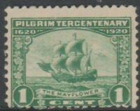 Scott# 548 - 1920 Commemoratives - 1 cent The Mayflower (GD)