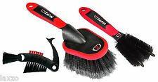 Zefal ZB Bicycle Cleaning Brush Set-In Black Red Freewheel Cleaning,&Chain Brush