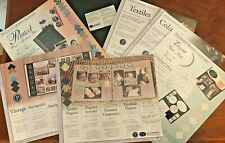 Creative Memories Photo Safe Printed Mounting Paper: cards, scrapbooking Nip