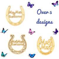 Personalised Wooden MDF Wedding Horseshoe Bridal Gift Wood Craft Horse Shoe Sign
