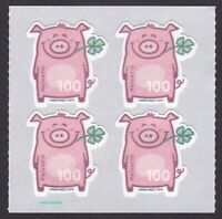 Switzerland 2019 Lucky Year of Pig Unique Unusual Special paper odd shape block