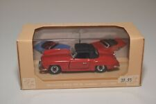 @. 1:43 RIO R6 MERCEDES-BENZ 190 SL 190SL ROADSTER 1955-1963 RED MINT BOXED